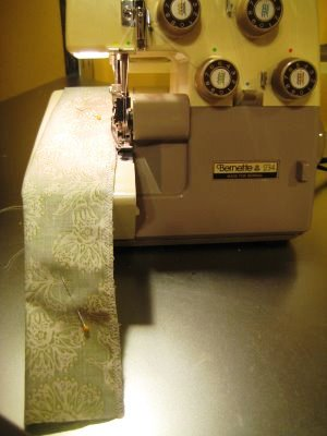 Návod na šití zástěry